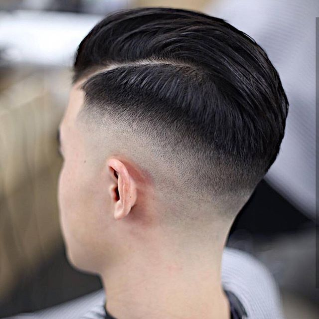 Hair Hairstyles Man Menfashion Fade Haircut Black Barber