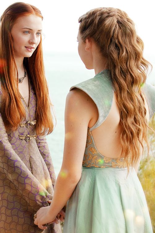 "gameofthronesdaily: ""We could be sisters, you and I."" {x}"