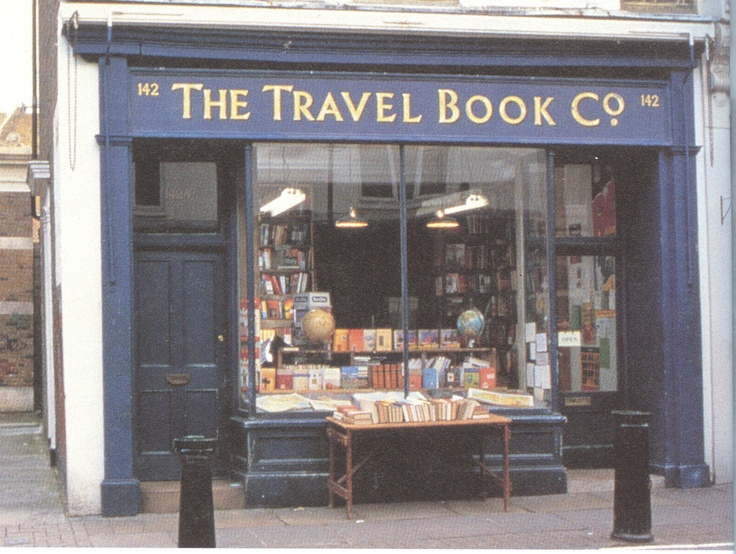 Notting Hill Bookstore. This could be the start of a vicious yet delightful cycle - travel here to buy travel books, which then make you travel some more! =D