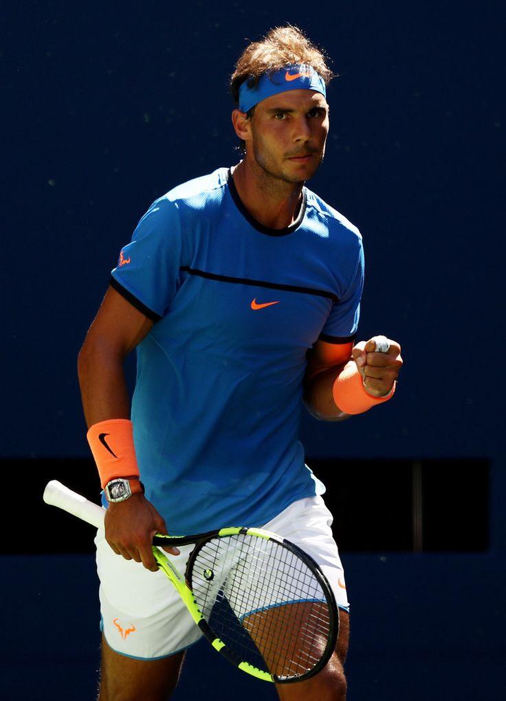 Rafael Nadal n'a eu aucun problème pour franchir le 1er tour de Flushing Meadows, ce lundi, face à Denis Istomin, battu 6-1, 6-4, 6-2. L'Italien Andreas Seppi sera le prochain adversaire de l'Espagnol, tête de série N.4 à New York. ATP Us Open 2016 Nadal Rafael Vamos Rafa Tennis Pic Nike court NikeCourt