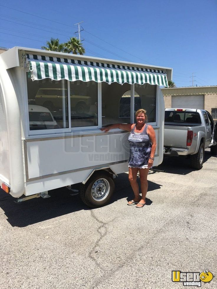 2015 - 7' x 12' Food Concession Trailer | kitchen trailer for Sale in Texas - This is a 2015 - 7' x 12' Food Concession Trailer that has 6.6' of inside standing height. Check out more details below.