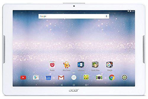 Acer Iconia One 10 B3-A30-K296 Tablette Tactile 10″ Blanc (MediaTek Quad-Core, Mémoire 16 Go, Android 6.0)
