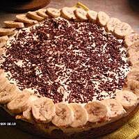 Banoffi Pie - Ciasto bananowe z toffi