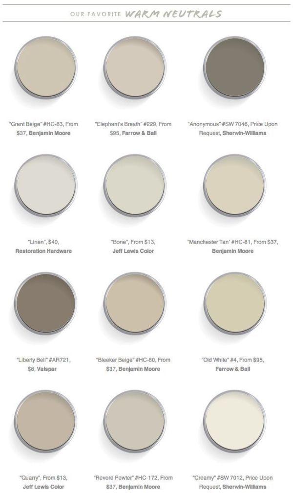 Domaine Home 12 Best Warm Neutral Paint Colors By Nita Warm