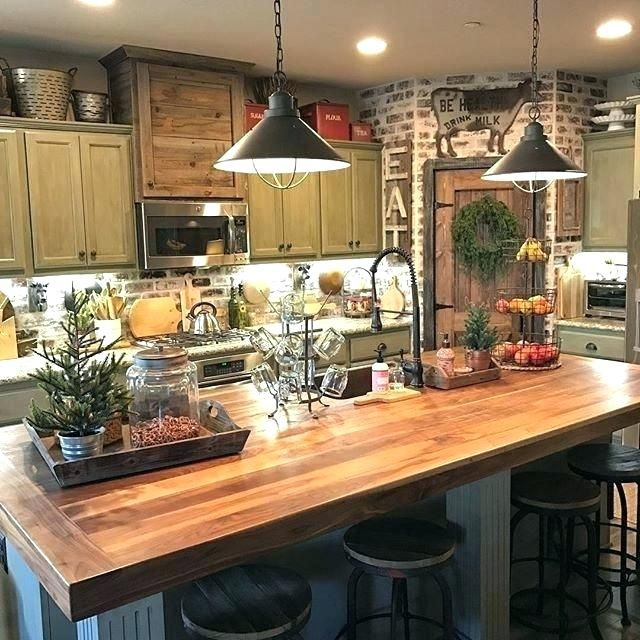 Rustic Farm Kitchen Rustic Farmhouse Kitchen Top Best Small Rustic