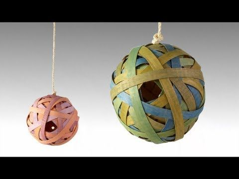 Create a beautiful decorative birdhouse out of wood veneer with these step by step instructions from Lowe's Creative Ideas. Find the complete instructions for this project at http://www.lowescreativeideas.com/idea-library/projects/Veneer_Sphere_Birdhouse.aspx