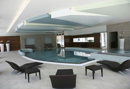 Indoor Feature Walls - Luxury Swimming Pools by Milano Pools - Design, Construction & Material Suppliers - Tiles, Paving, Copings, Roman Ends, Grates & Mosaics