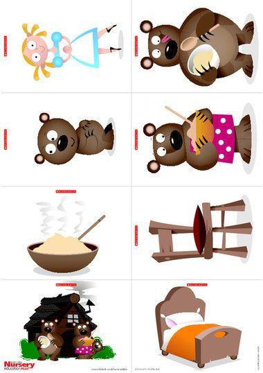 Goldilocks and the 3 bear activities - Google Search