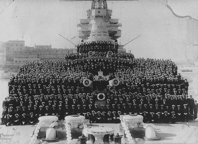 HMS Hood Crew More