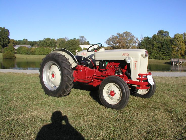 1956 Ford Tractor : Best images about antique tractors on pinterest baler