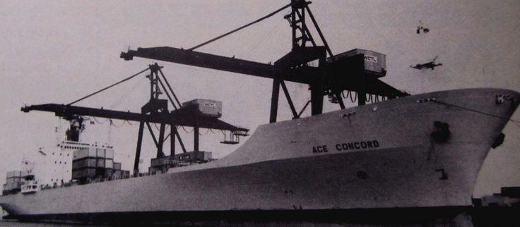 NAVI MERCANTILI - Navi portacontenitori - Costruiti dal 1981 al 1990 Cantiere e anno di costruzione: Ishbras Yard (rio de Janeiro) - 1981