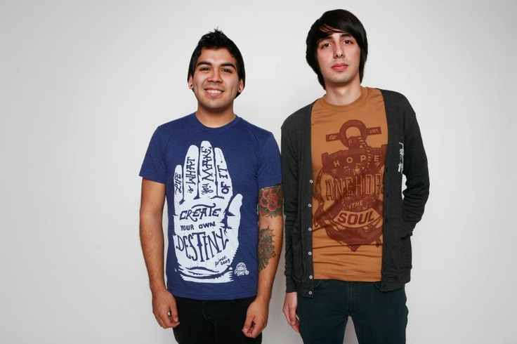 Create Your Own Destiny t-shirt and Hope Anchors the Soul (both $19.99 each) at www.11elevenapparel.com
