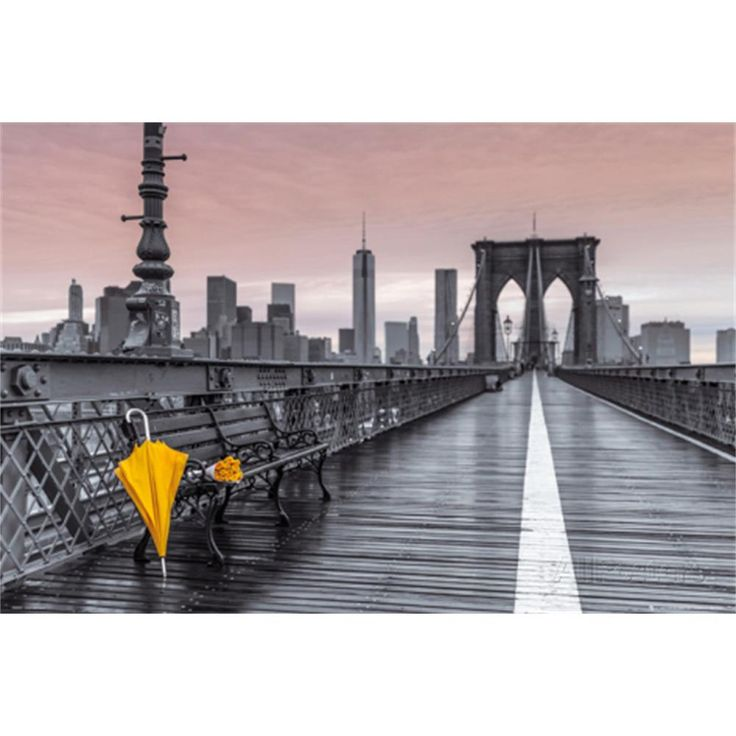 Brooklyn Bridge Umbrella | Univeristy of Arizona Dorm Room Decor | OCM.com