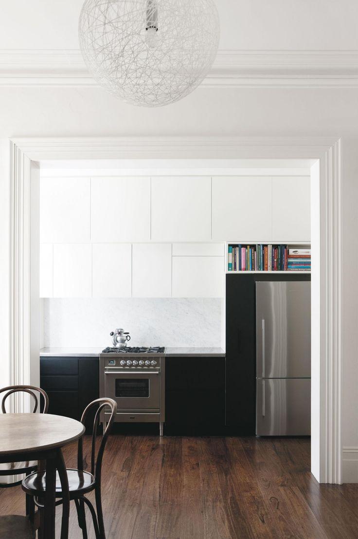 Small kitchen renovation. Photography by Jason Busch.