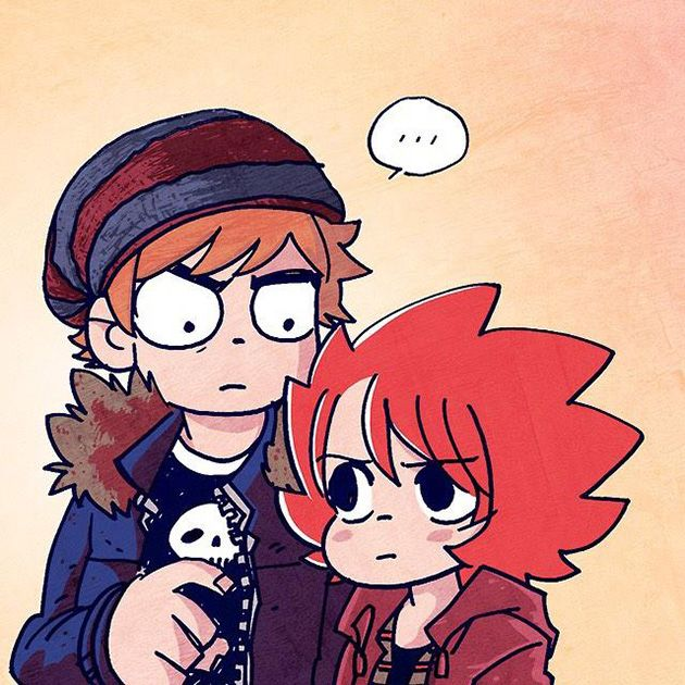 Scott Pilgrim and Katie (Seconds) by Bryan Lee O'Malley and Harry Myland
