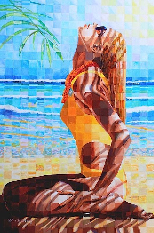 Robert Doesburg #Heat #Painting