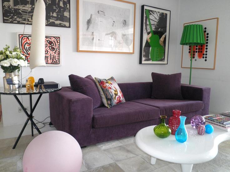 Sof Beringela Do Apartamento Lisboa De Monica Penagui O