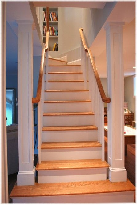 1000 basement pole ideas on pinterest basement pole - Ideas for basement stairs ...