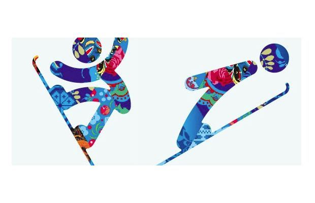 2014 Winter Olympics Pictograms