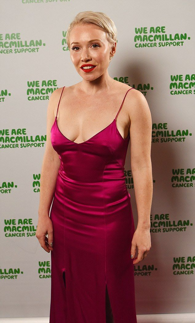 Looking good:Daisy Lewis looked worlds away from her onscreen role on Wednesday night, as...