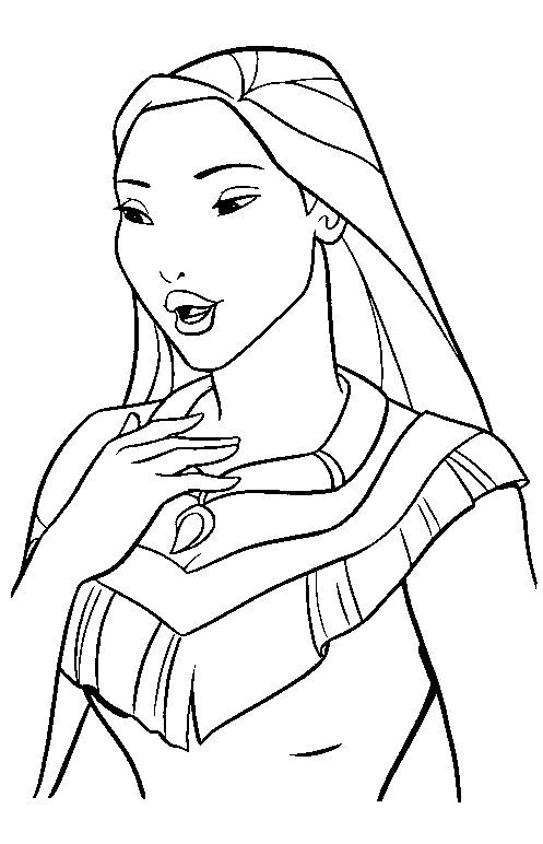free disney printables | Disney Princess Coloring Pages Printable