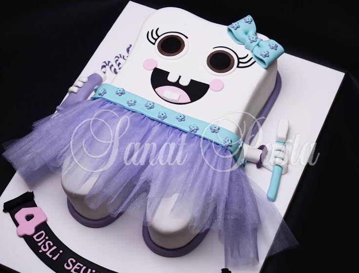 Diş pastası | Butik Pasta | Butik Kurabiye | Doğum Günü Pastası