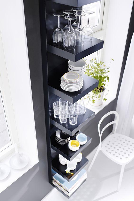 best 25 ikea lack shelves ideas on pinterest ikea floating shelves ikea shelves and white. Black Bedroom Furniture Sets. Home Design Ideas