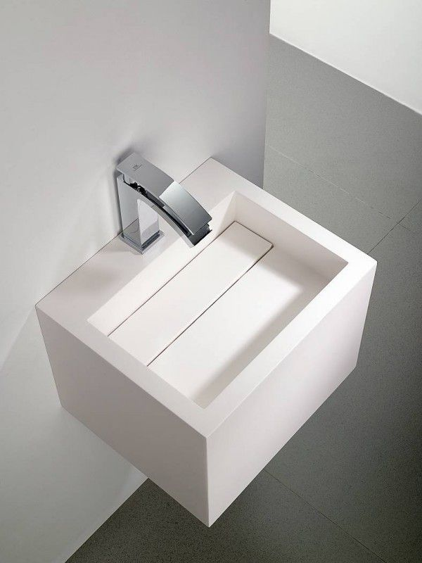 Yat Sink In Krion By Systempool With Hidden Drainage System B A G N O Pinterest Sinks