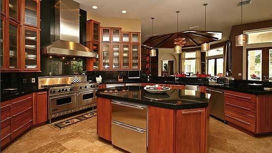 Plan 4274mj chateau masterpiece mediterranean house for Country kitchen design ideas 4 homes