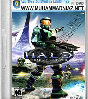 Halo Combat Evolved Game Cover