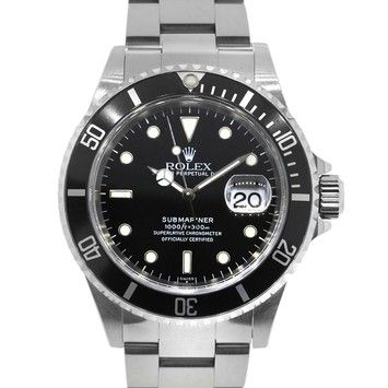 Rolex 16610 Submariner Stainless Steel Black Dial Watch. Get the lowest price on Rolex 16610 Submariner Stainless Steel Black Dial Watch and other fabulous designer clothing and accessories! Shop Tradesy now