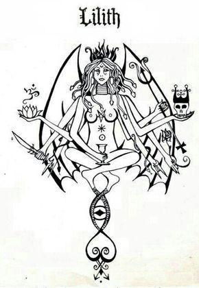 1706 best occult art images on pinterest demons occult for Maitresse lilith