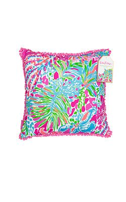 Lilly Pulitzer Large Indoor/Outdoor Pillow