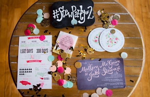 Here are 8 rules to follow if you want to create the best wedding hashtag #EVER.