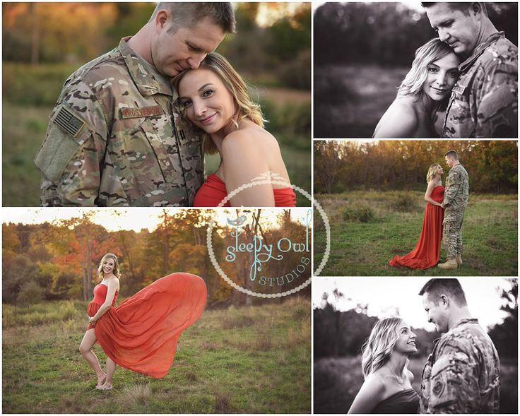 Military Maternity Photos {Sleepy Owl Studios}