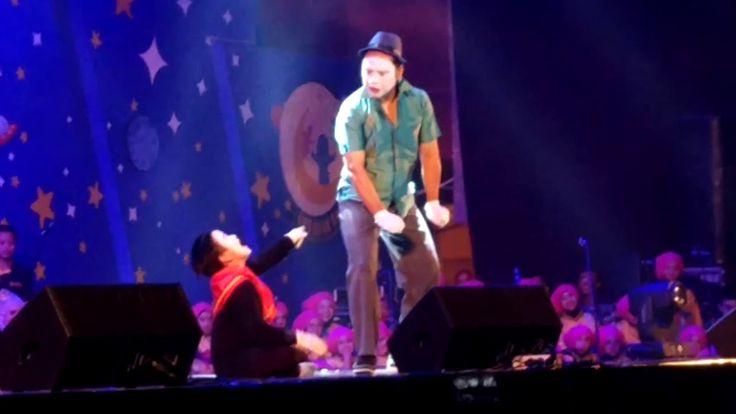 NAURA - Ambillah Bulanmu - PANTOMIN on Konser Drama Musikal Anak