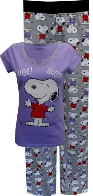 Peanuts Snoopy Cotton Pajama