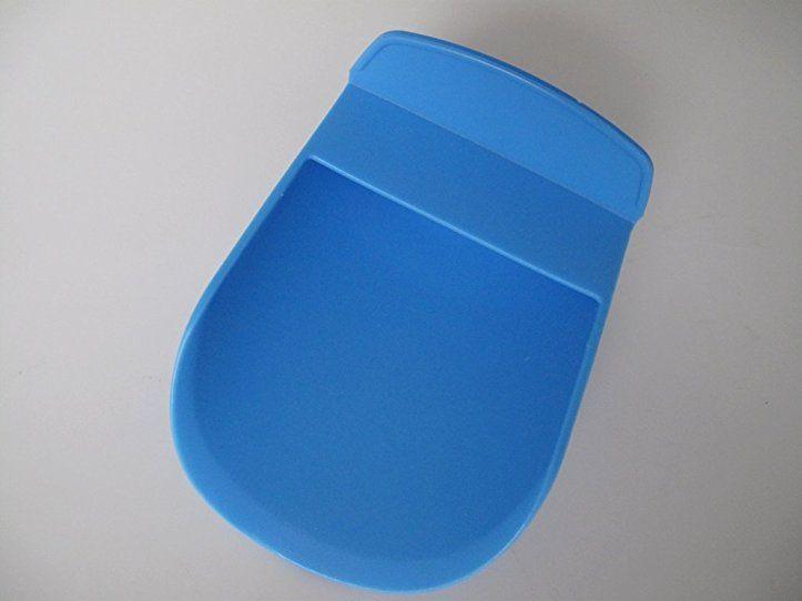 Tupperware Backen Mehlschaufel Blau Mehl Loffel Kuchenhelfer