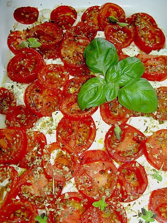 Ofen - Tomaten mit Feta