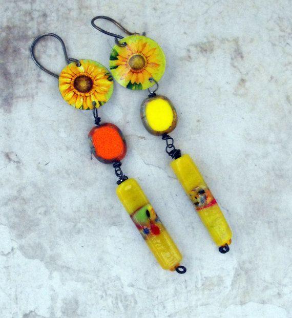 Sun Flowers  Goodbye Summer  Artisan Statement by MargitBoehmer