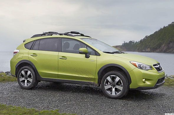10 SUVs with the Best Fuel-Economy - Pg.10 - TheStreet