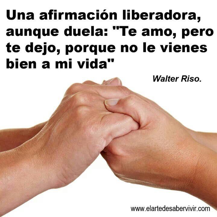 Walter Riso // éste Walter me cae de variedad por sincero :/