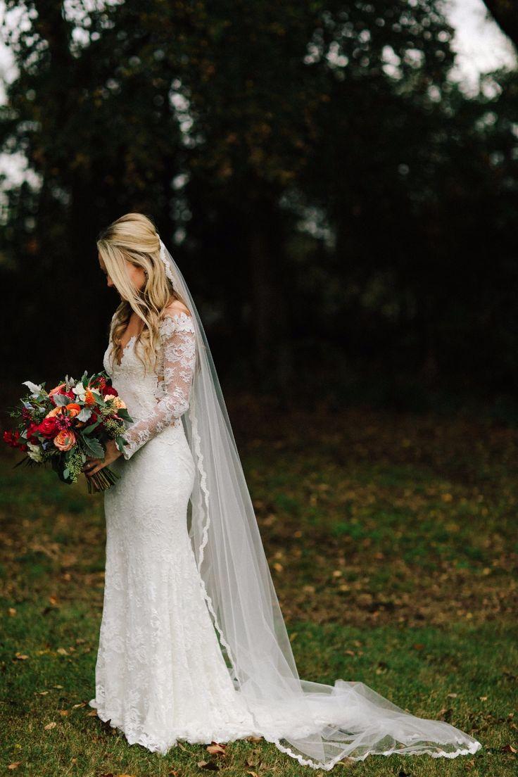 elegant bridal style for your fall wedding