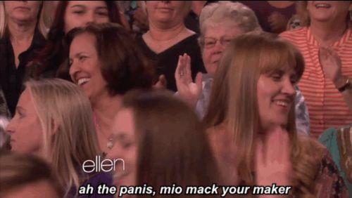 "Watch Ellen's Audience Stumble Their Way Through Singing ""Blurred Lines"""