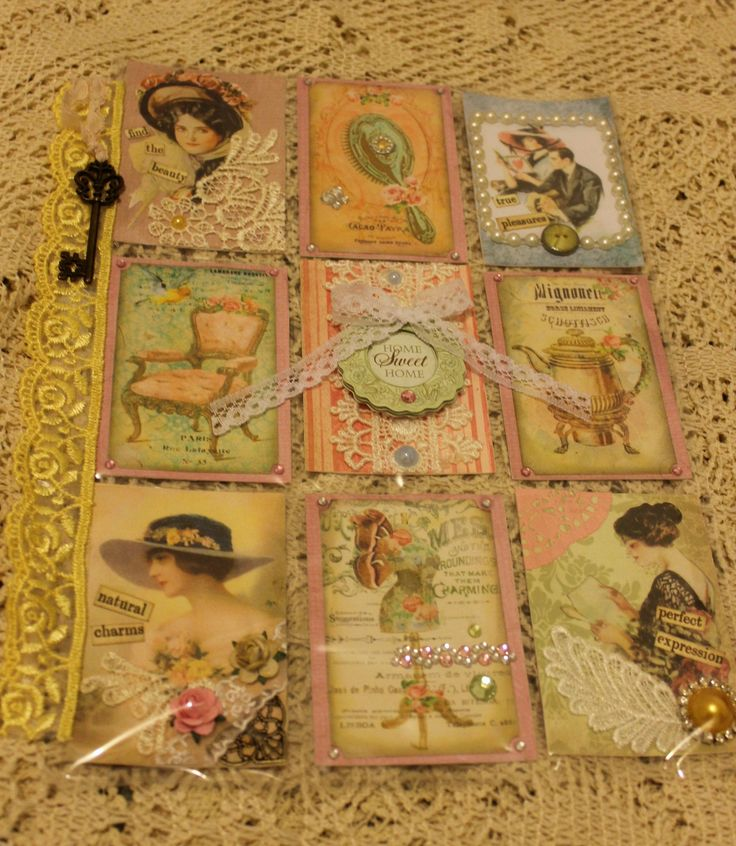 Shabby chic way of life pocket letter