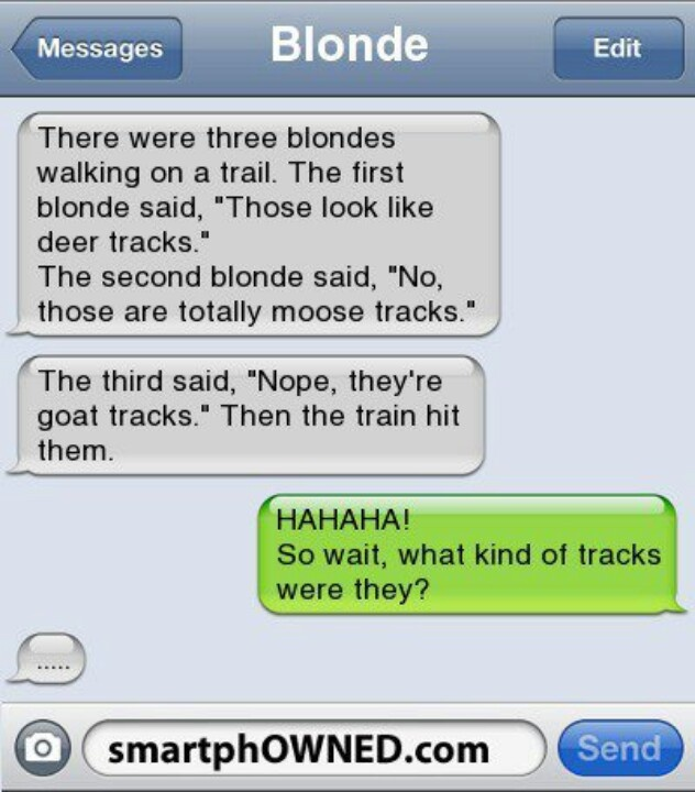 blonde jokes funny dirty - photo #36