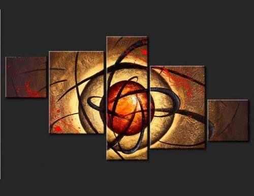 cuadros modernos, tripticos, abstractos, texturados.en tela