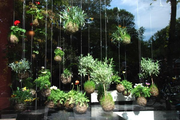 hanging gardens | Modern hanging garden New Gardening Ideas for Spring