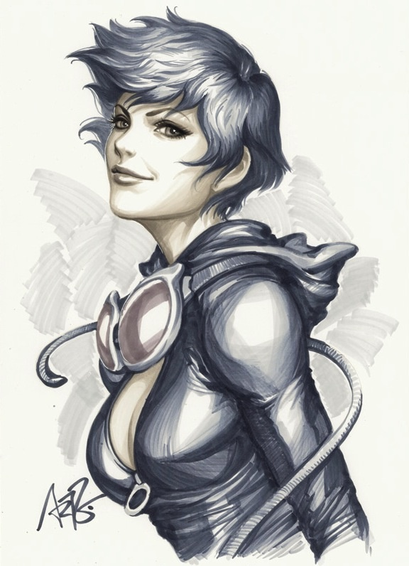 Catwoman by stanley artgerm lau comic art