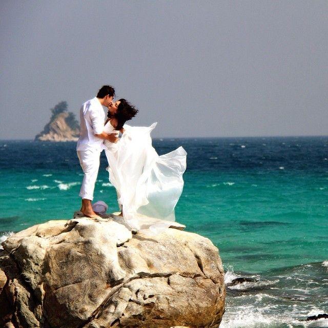Свадьба за границей, Таиланд, фотограф Игорь Камаев. Wedding on island, Thailand, photographer Igor Kamaev